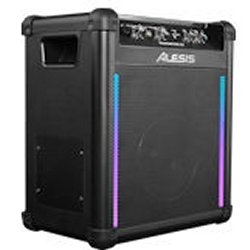 Alesis TRANSACTIVE WIRELESS 2 Portable Powered Bluetooth Speaker System with Lights