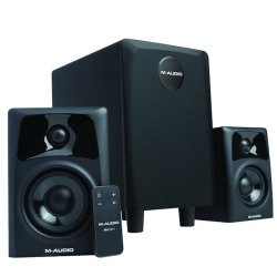 M-Audio AV32.1 Active Studio Speakers with Subwoofer (discontinued clearance)