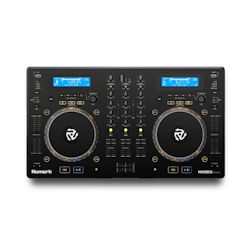 Numark Mixdeck Express Black USB DJ Controller MIDI Controller With CD & Serato DJ Intro Software