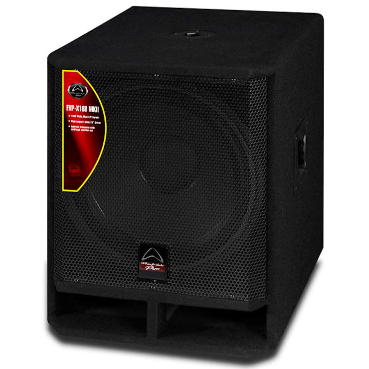 Wharfedale Pro EVP-X18B MKll Passive PA Speakers Subwoofer