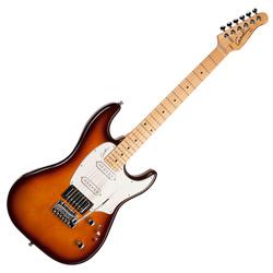 godin 033959 session lightburst hg mn 6 string electric guitar with gig bag discontinued. Black Bedroom Furniture Sets. Home Design Ideas