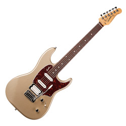 Godin 041183 Session Silver Gold HG RN LTD 6 String Electric Guitar