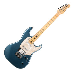 Godin 041206 Session Desert Blue HG MN LTD 6 String Electric Guitar