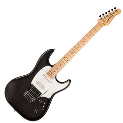 Godin 034055 Session Black Burst SG MN 6 String Electric Guitar