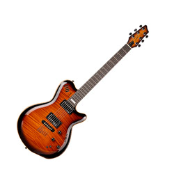Godin 024087 LGX-SA Cognac Burst Flame AA 6 String Electric Guitar