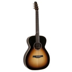 Seagull 041091 Artist Studio CH Sunburst HG Element 6 String Acoustic Electric Guitar