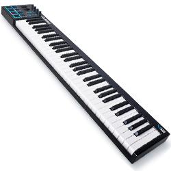 alesis v61 61 key usb midi keyboard controller acclaim sound and lighting canada. Black Bedroom Furniture Sets. Home Design Ideas