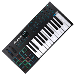 Alesis VI25 Advanced 25 Key USB MIDI Keyboard Controller