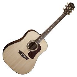 Washburn HD30S Heritage 6 String Acoustic Electric with Tamo Ash back and sides (discontinued clearance)