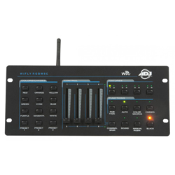 American DJ WIFLY-RGBW8C 64-Channel Wireless DMX Controller