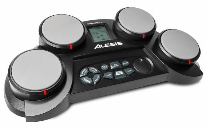 Alesis COMPACTKIT4XUS 4-Pad Portable Tabletop Drum Kit Product Image 2