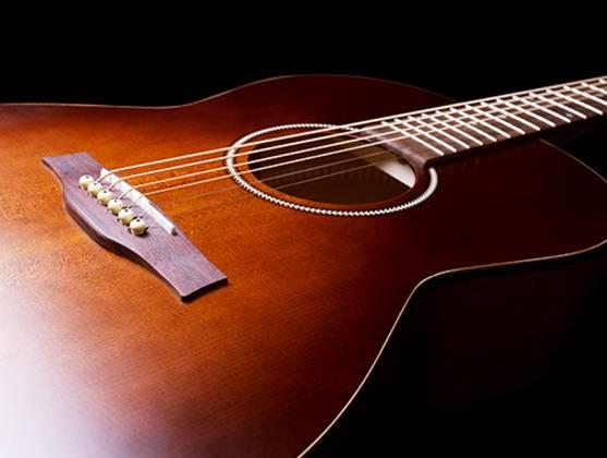 Seagull 041886 Entourage Folk Burnt Umber QIT Acoustic Electric Guitar 6 String Product Image 7