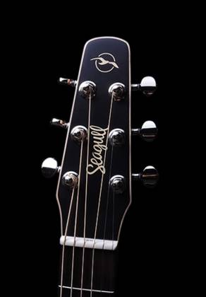 Seagull 041831 S6 Original Burnt Umber QIT 6 String RH Acoustic Electric Guitar Product Image 6
