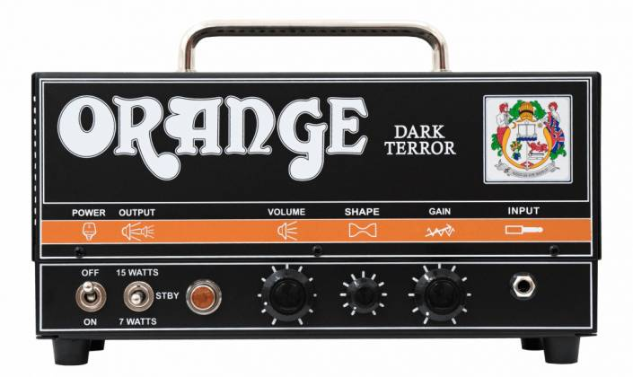 Orange DA15H Dark Terror 15-Watt Tube Amplifier Head Product Image 7