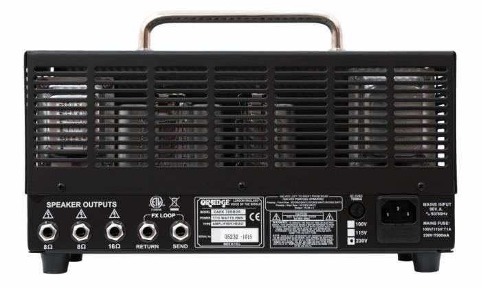 Orange DA15H Dark Terror 15-Watt Tube Amplifier Head Product Image 5