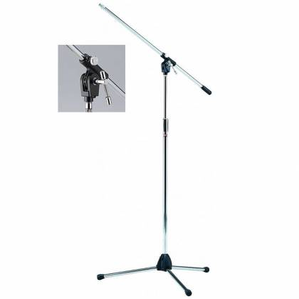 Tama MS205 Heavy Duty Chrome Mic Stand Product Image 2