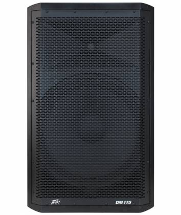 "Peavey DM115 Dark Matter Series Active Loudspeaker with 15"" Heavy-Duty Woofer 03614530  Product Image 2"