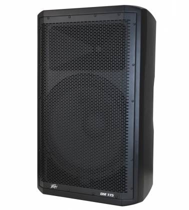 "Peavey DM115 Dark Matter Series Active Loudspeaker with 15"" Heavy-Duty Woofer 03614530  Product Image 3"