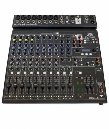 Peavey 03614200 PV 14 BT Mixer with Bluetooth and Digital Effects Product Image 2