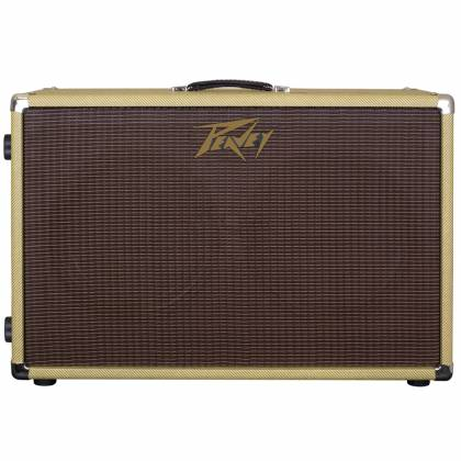 Peavey 03615000 212C Guitar Amplifier Cabinet with Vintage 30 and G12T-75 Speakers Product Image 2
