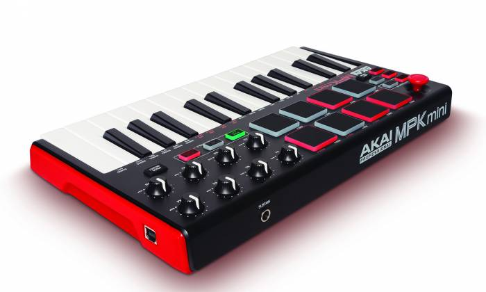 Akai MPKMINI2 Compact Keyboard and Pad Controller mpk-mini-2-mk-2 Product Image 7