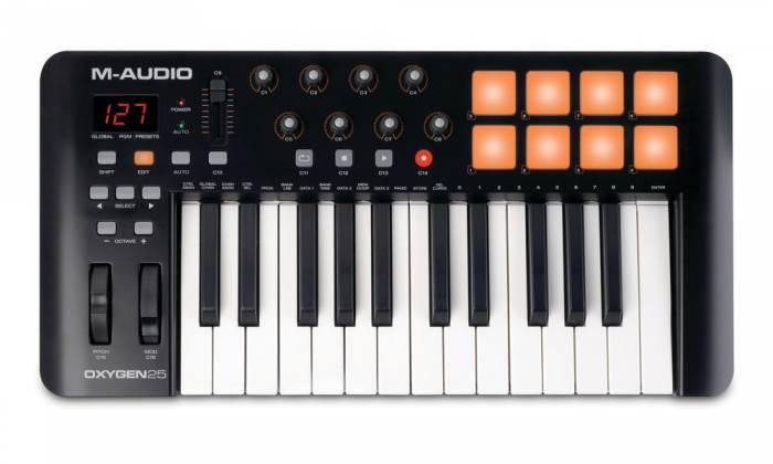 M-Audio Oxygen25-IV 25-Key USB MIDI Keyboard Controller Product Image 2