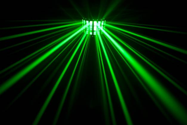 Chauvet DJ MINI KINTA IRC 3W RGBW DMX and IRC-6 Controllable Effects Light Product Image 6