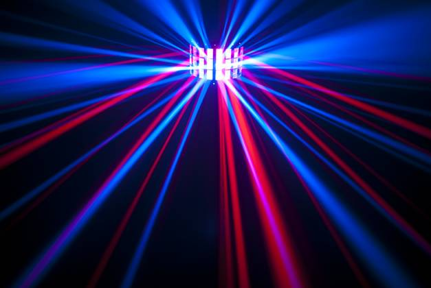 Chauvet DJ MINI KINTA IRC 3W RGBW DMX and IRC-6 Controllable Effects Light Product Image 2