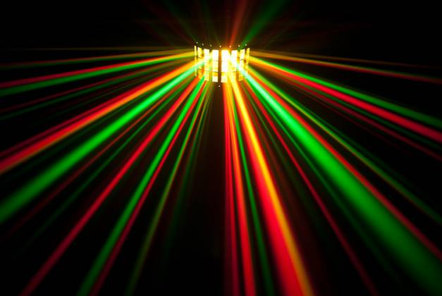 Chauvet DJ MINI KINTA IRC 3W RGBW DMX and IRC-6 Controllable Effects Light Product Image 4