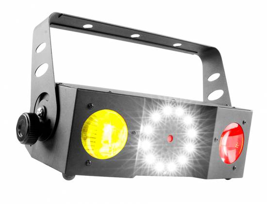 Chauvet DJ SWARM 4 FX Multi-Effects Light with Moonflowers, RG Laser, and White Strobe Product Image 3
