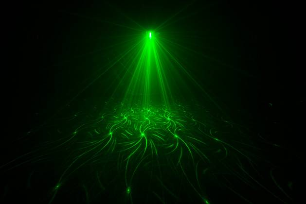Chauvet DJ SWARM 4 FX Multi-Effects Light with Moonflowers, RG Laser, and White Strobe Product Image 10
