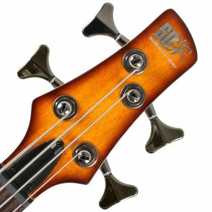 Ibanez SR370EF-BBT 4-String RH Fretless Electric Bass - Brown Burst Product Image 4