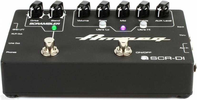 Ampeg SCRDI Bass DI with Scrambler Overdrive scr-di Product Image 4