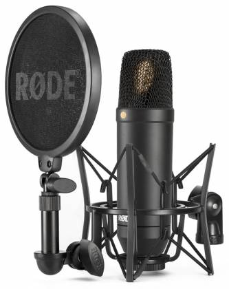 "Rode NT1 Kit 1"" Cardioid Condenser Microphone with SM6 Shock Mount and Pop Filter nt-1-kit Product Image 1"
