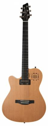 Godin 036752 A6 Ultra Natural SG 6 String LH Acoustic Electric Guitar with Gig Bag Product Image 9