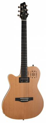 Godin 036752 A6 Ultra Natural SG 6 String LH Acoustic Electric Guitar with Gig Bag Product Image 8