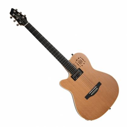 Godin 036752 A6 Ultra Natural SG 6 String LH Acoustic Electric Guitar with Gig Bag Product Image
