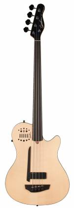 Godin 033645 A4 Ultra Natural SG Fretless EN SA 4 String Bass with Gig Bag Product Image 6