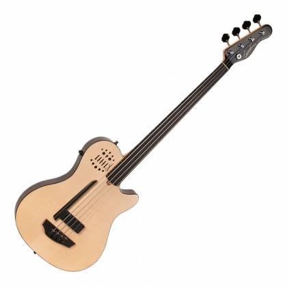 Godin 033645 A4 Ultra Natural SG Fretless EN SA 4 String Bass with Gig Bag Product Image