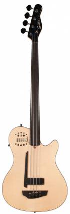 Godin 033645-d A4 Ultra Natural SG Fretless EN SA 4 String RH Bass with Gig Bag Product Image 6
