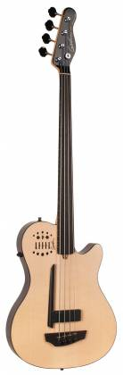 Godin 033645-d A4 Ultra Natural SG Fretless EN SA 4 String RH Bass with Gig Bag Product Image 5