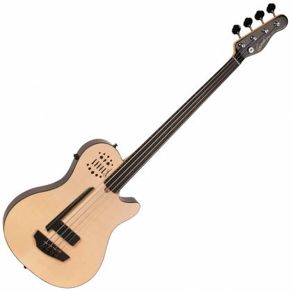 Godin 033645-d A4 Ultra Natural SG Fretless EN SA 4 String RH Bass with Gig Bag Product Image