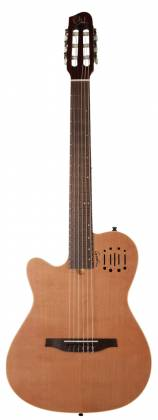 Godin 035878 MultiAc Nylon Encore Natural SG 6 String LH Acoustic Electric Guitar with Gig Bag Product Image 10