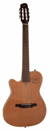 Godin 035878 MultiAc Nylon Encore Natural SG 6 String LH Acoustic Electric Guitar with Gig Bag Product Image 9