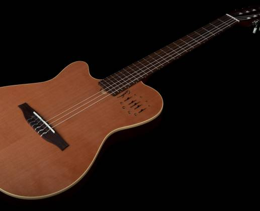 Godin 035878 MultiAc Nylon Encore Natural SG 6 String LH Acoustic Electric Guitar with Gig Bag Product Image 7