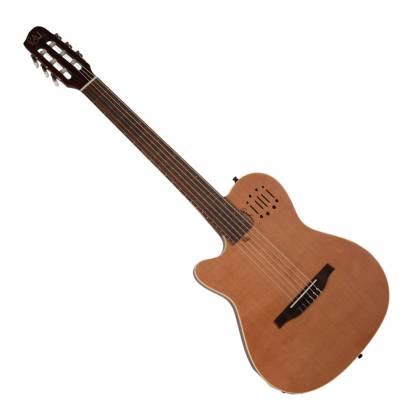 Godin 035878 MultiAc Nylon Encore Natural SG 6 String LH Acoustic Electric Guitar with Gig Bag Product Image