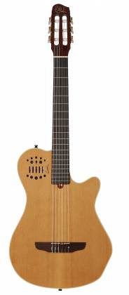 Godin 012817 Multiac Nylon Grand Concert Natural HG 6 String RH Acoustic Electric Guitar with bag Product Image 13