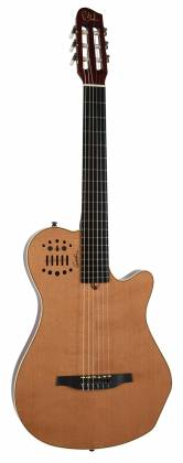 Godin 012817 Multiac Nylon Grand Concert Natural HG 6 String RH Acoustic Electric Guitar with bag Product Image 12