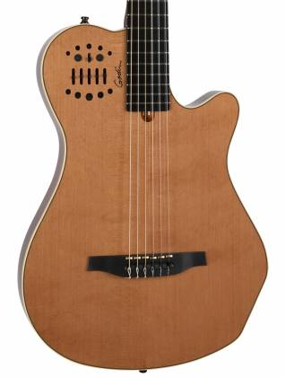 Godin 012817 Multiac Nylon Grand Concert Natural HG 6 String RH Acoustic Electric Guitar with bag Product Image 10