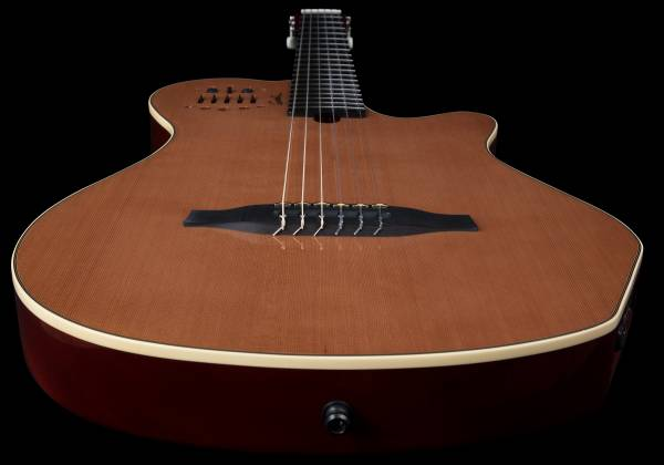 Godin 012817 Multiac Nylon Grand Concert Natural HG 6 String RH Acoustic Electric Guitar with bag Product Image 6